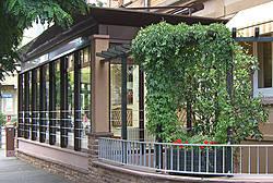 2004 Wintergarten eines Cafés – Südviertel Marburg