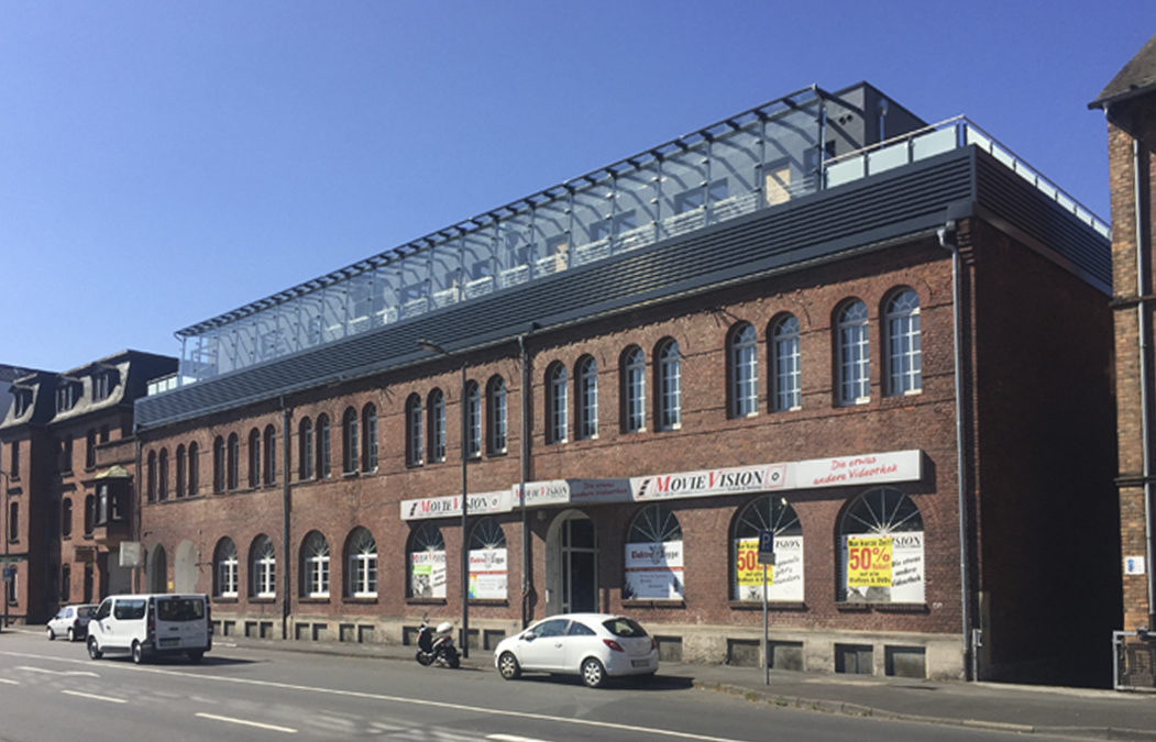 2016 Wohnaufstockung Geschäftshaus Marburg