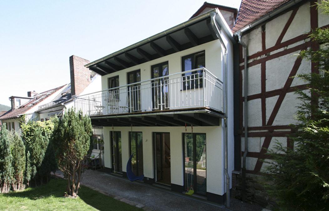 2015 Wohnhaus – Marburg