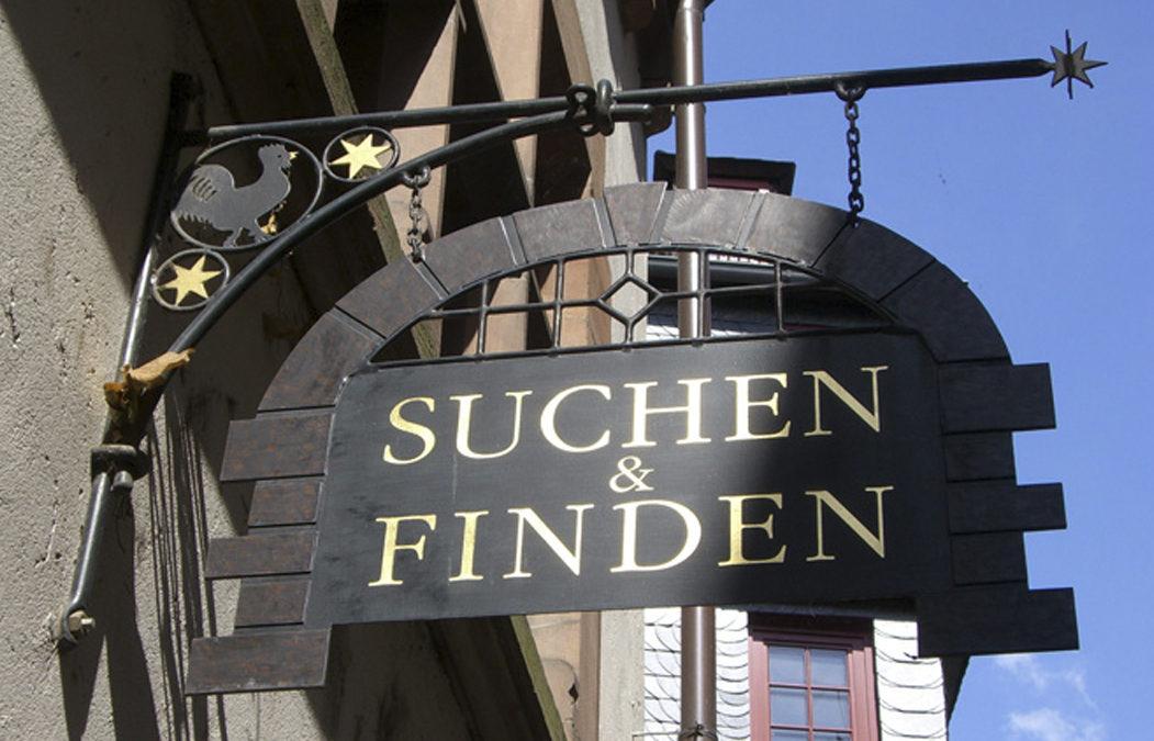 1995 Suchen & Finden – Altstadt Marburg