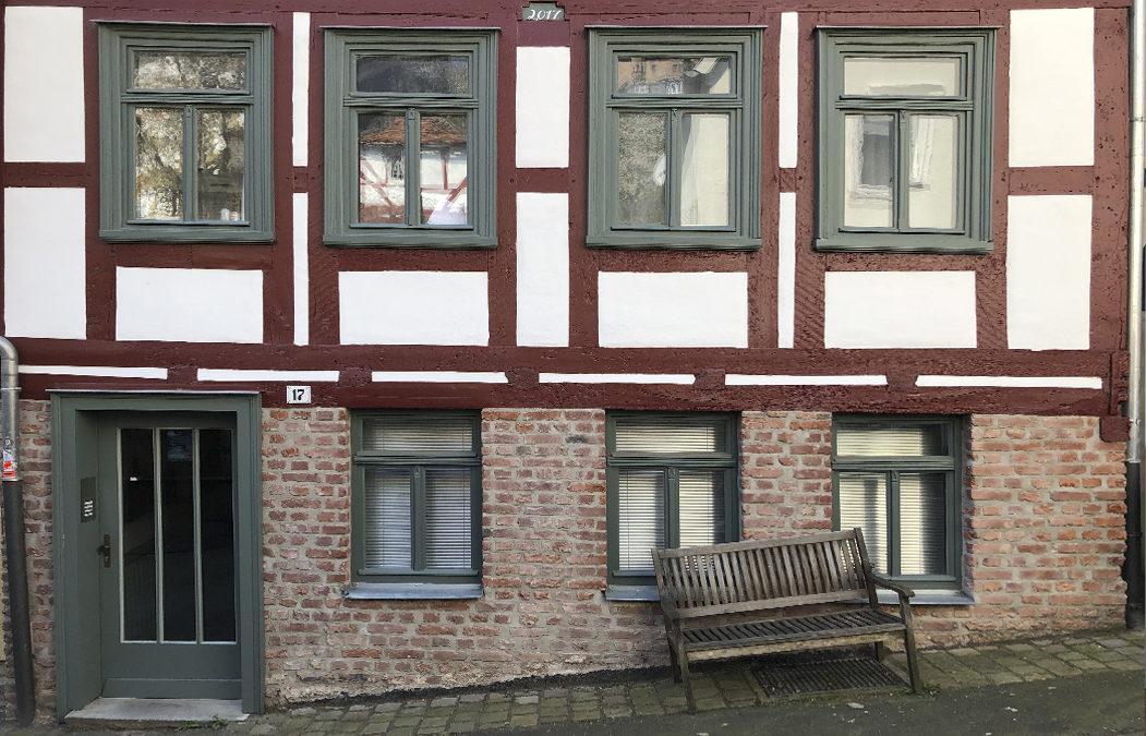 2017 Wohngebäude – Altstadt Marburg