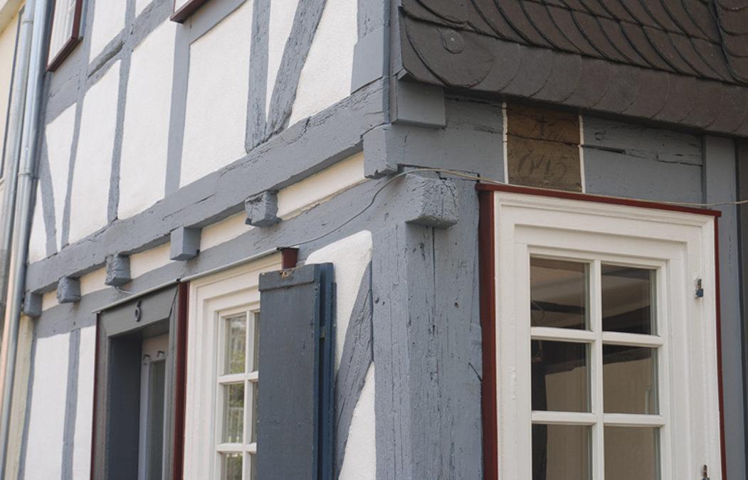 2018 Wohngebäude – Altstadt Marburg