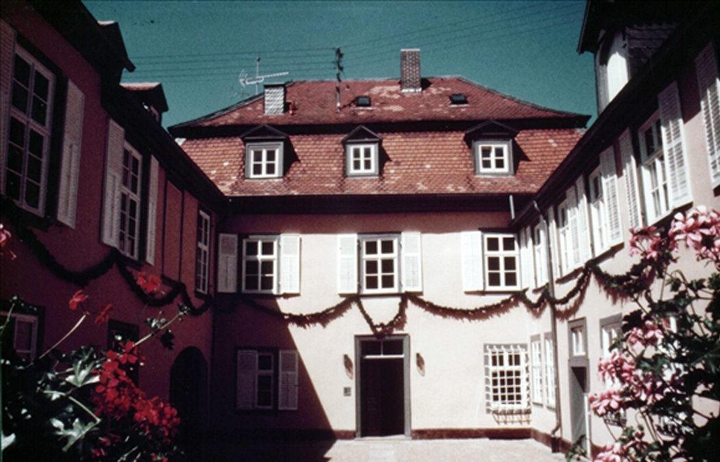 1982 Schreibersches Haus, Nationales Denkmal, Bad Arolsen