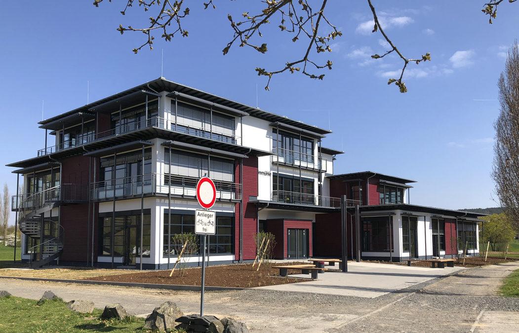 Fertigstellung des Atrium – Mittelstufenzentrum Steinmühle Marburg